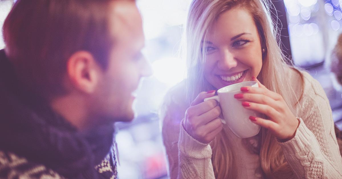 Blickkontakt flirten frauen