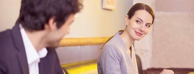 Flirten mit einem vergebenen mann
