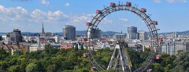 Panorama von Wien soll motivieren Singles aus Wien kennenzulernen