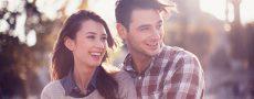 Konvertieren aus Liebe: Mann und Frau gemeinsams