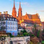 Panorama von Basel als Motivation um Singles zu treffen
