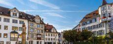Panorama von St Gallen als Motivation um Singles dort zu treffen