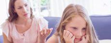 Mutter diskutiert mit Kind - Kind akzeptiert neuen Partner nicht