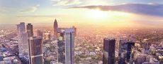 Singles in Frankfurt: Skyline von Frankfurt