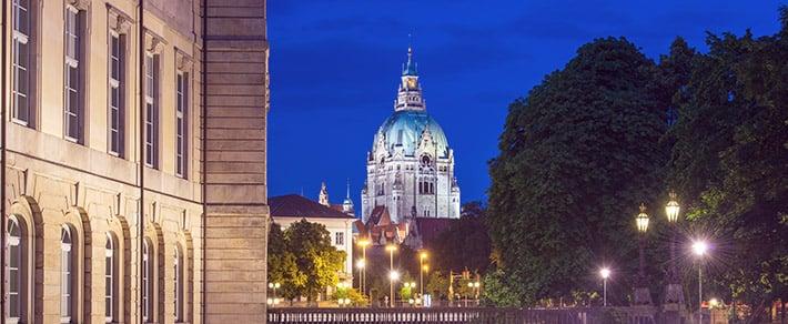 Panoaramabild als Symbol zum Singles Hannover Kennenlernen