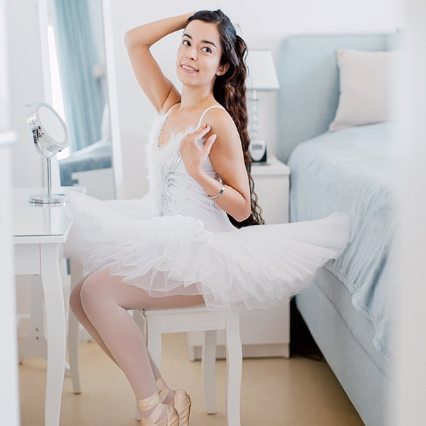 In ihrer Freizeit tritt Single Sarah aus Stuttgart gerne als Ballerina auf. Jetzt mehr erfahren!