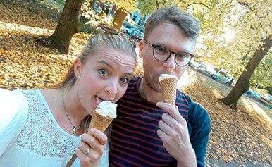 Nicht nur Eis genießen Tina und Werner gemeinsam: Hier die Erfolgsgeschichte lesen!