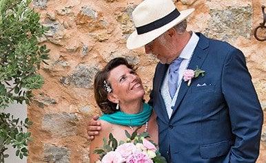 Erfolgspaar Christiane und Norbert heirateten auf Mallorca
