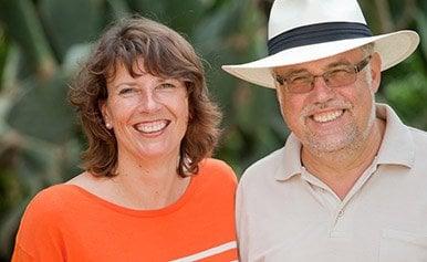 ElitePartner-Erfolgspaar Christiane und Norbert auf Mallorca